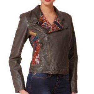 Desigual Liz Moto Jacket Size 42